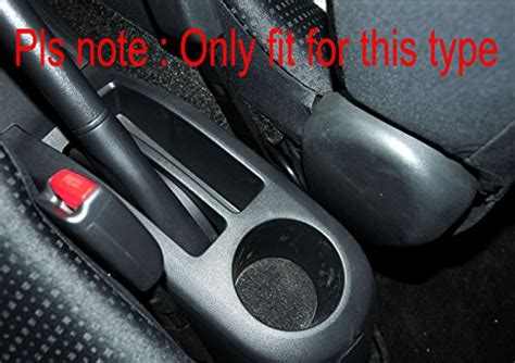 99Parts Leather Black Console Center Armrest for Toyota