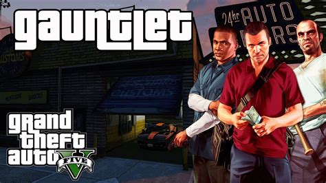 Grand Theft Auto 5 (GTA V) Gauntlet Mission (1-3) Find All