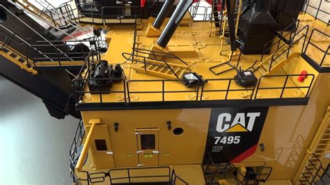 CAT 7495 HF after shipping - YouTube