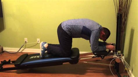 Total Gym AbCrunch Ab Workout - YouTube