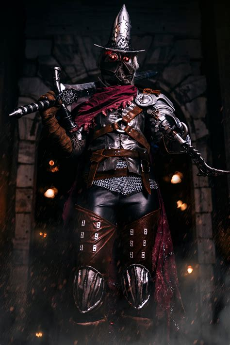 An Intimidating Dark Souls 3 Abyss Watcher Cosplay