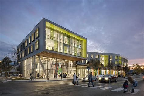 Chicago's Northtown Branch library and apartments ready to