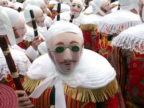 Funny Carnival of Binche   travelexciting
