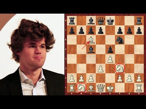 Magnus Carlsen's immortal chess game (and his birthday