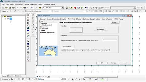 How can I plot U and V wind vectors in ArcGIS 9