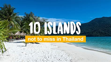 10 islands not to miss in Thailand | Travel blog about