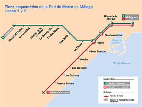 Malaga Metro – Schedules, tickets, maps, lines and routes