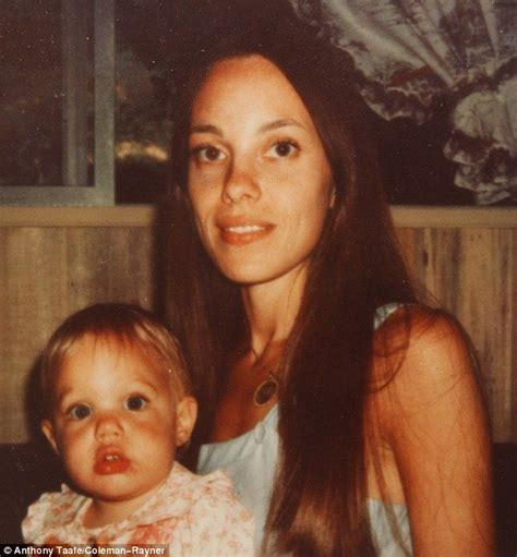 Rare baby pictures show Angelina Jolie with look-alike