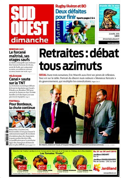 Journal Sud Ouest (France)