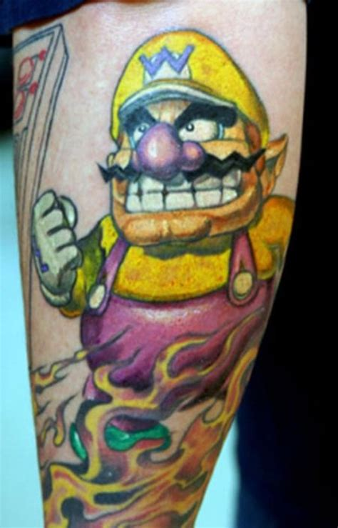 Game Tattoo Desings For Game Lovers