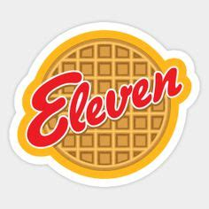 Eleven Eggo (Stranger Things) Sticker in 2019   Products