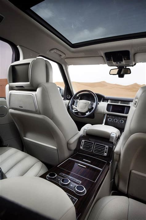 The All-New Range Rover is revealed, their most refined