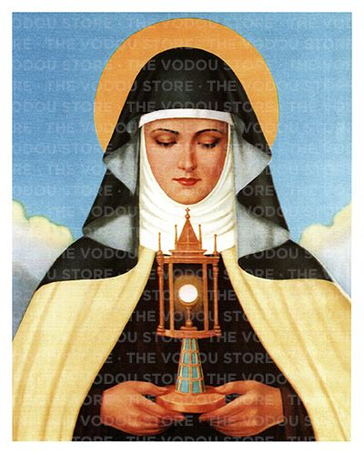Chromo - Saint Claire of Assisi : The Vodou Store