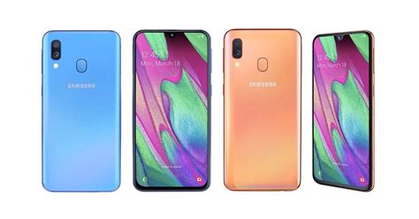 Samsung Galaxy A40 launched: Samsung Galaxy A40 specs and