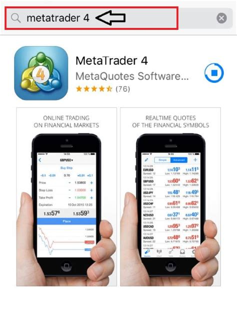 Where can I download the MetaTrader 4 iPhone app? | AxiTrader
