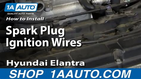How To Replace Spark Plug Ignition Wires 01-06 Hyundai