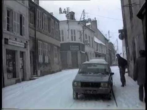 Neige à Montbard hiver 1985 1986 - YouTube