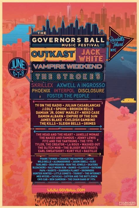 Governors Ball 2014 Lineup - Stereogum