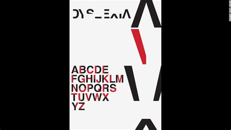 Typeface simulates readings with dyslexia - CNN