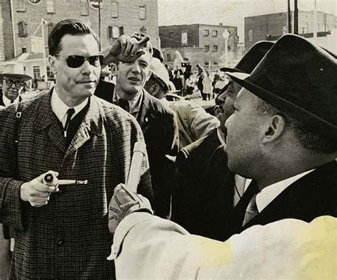 American Nazi Party leader George Lincoln Rockwell