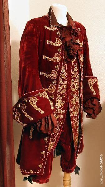 Jason Isaac's/ Captain Hook's Red outfit from the finale
