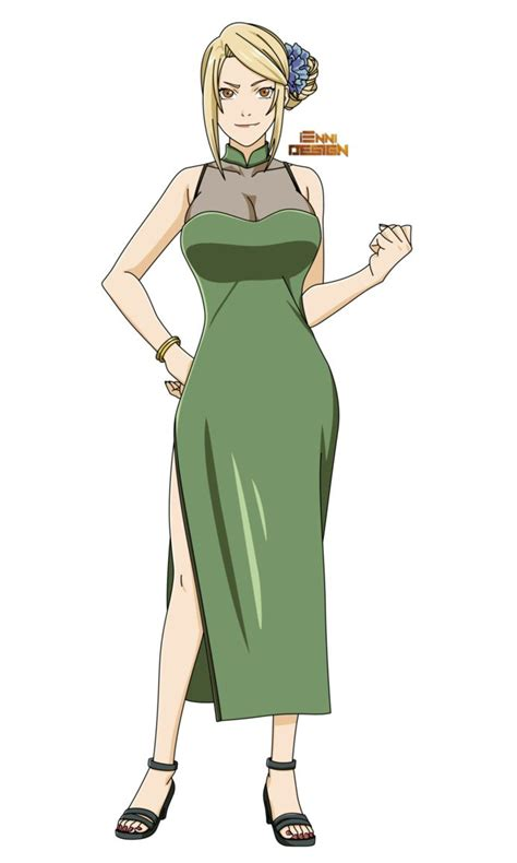 Chinese Clothing|Tsunade by iEnniDesign on DeviantArt