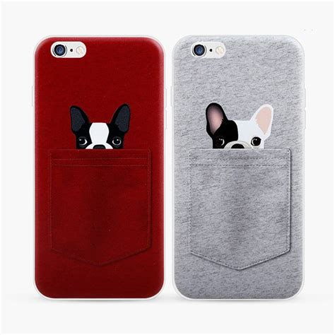 Soft TPU Case For Apple iPhone 6 6s Plus Case Dog In The