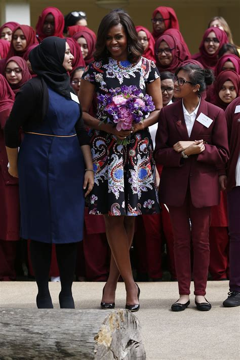 Michelle Obama's London and Italy Tour Outfits | Glamour