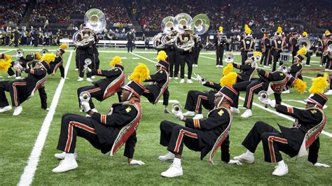For the Southern and Grambling bands, it was an epic Bayou
