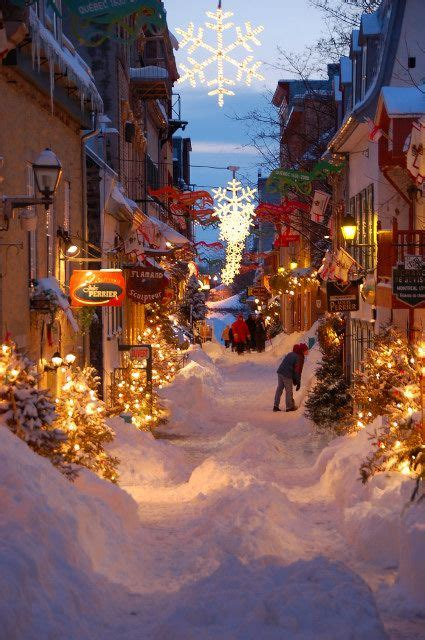Old Quebec street: I just have to go there someday in the