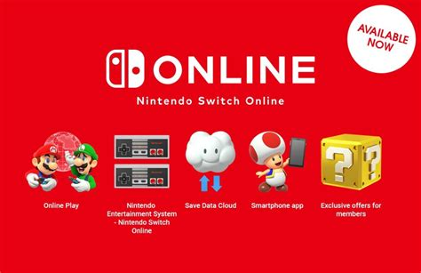 One Year Of Nintendo Switch Online Subscription Available