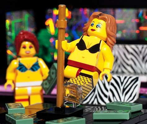 Cheeky Unofficial LEGO Set Of A Strip Club Features Sexy