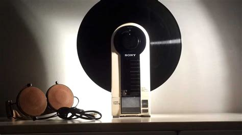 Sony PS-F5 Vintage Portable linear tracking turntable
