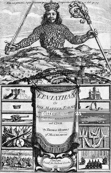 Title Page from Leviathan by Hobbes Pictures | Getty Images