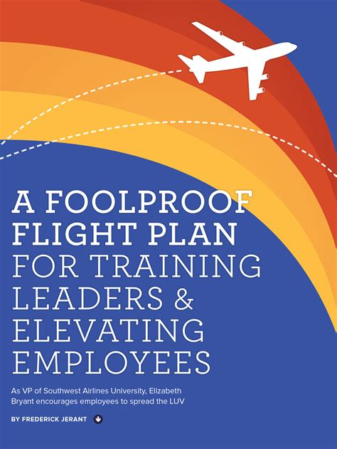 A Foolproof Flight Plan for Training Leaders & Elevating