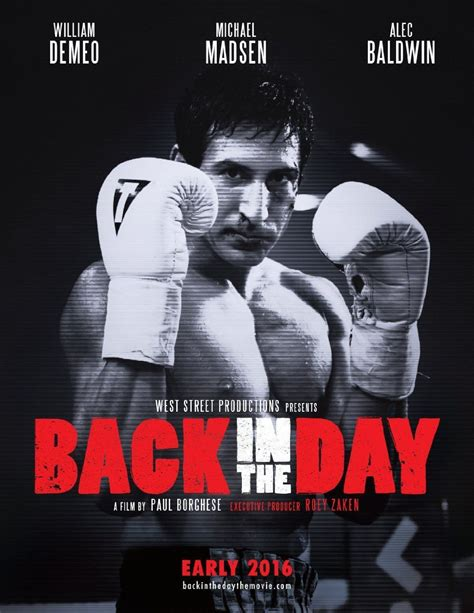 Boxing movies continue to get the green light in the film