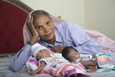 World's oldest mother, 70, is pleased at male heir but