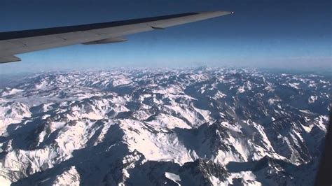 Andes Mountains, LAN Chile Santiago-Buenos Aires, South