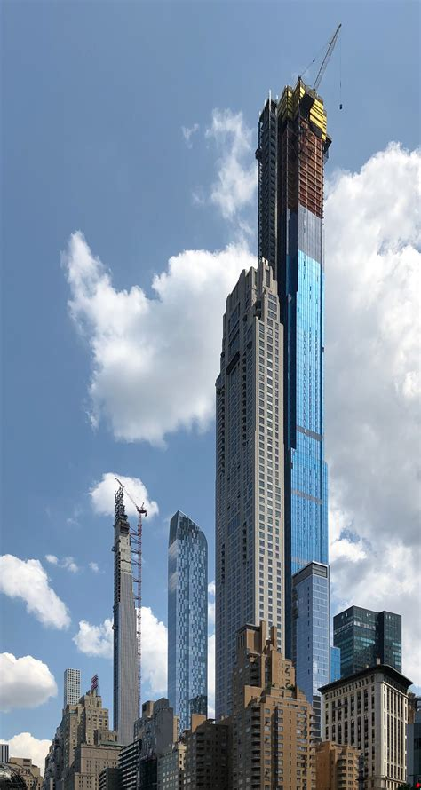 Central Park Tower Surpasses Chicago's Willis Tower On Way