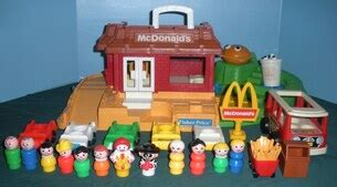 FP LP #2552 McDonalds (M) - Vintage Fisher Price Toys by