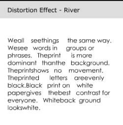 """Reading disorder: """"Rivers"""" or Scotopic Sensitivity"""