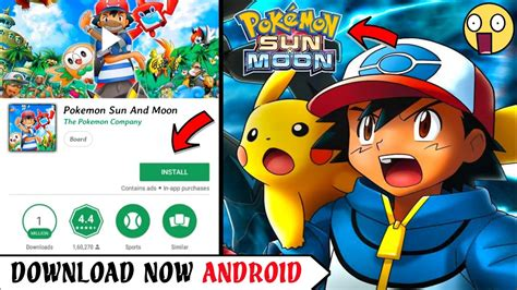 [400MB] Pokémon Ultra Sun and Moon Apk Download On Android