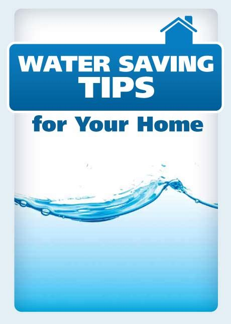 Water Saving Tips for Your Home | Project Energy Savers