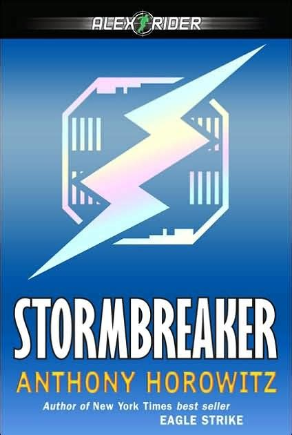 Books, Blurbs, and Room 105: Stormbreaker by Anthony Horowitz