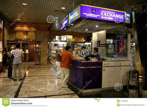 Foreign currency exchange editorial stock image