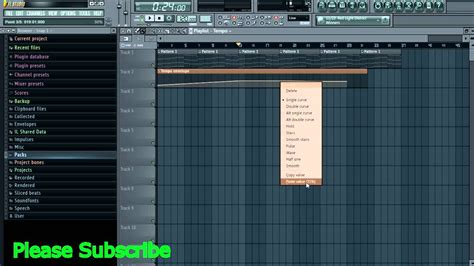 FL Studio: how to Automate Tempo, and Change Time