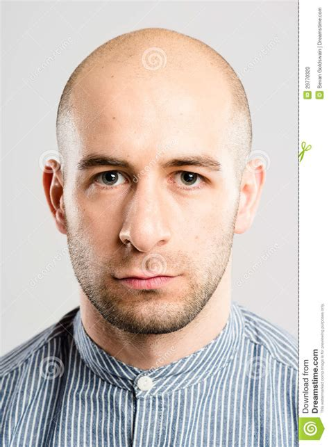Serious Man Portrait Real People High Definition Grey