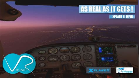 """XPLANE 11 IN VR - """"THIS LOOKS LIKE THE REAL THING """" - YouTube"""