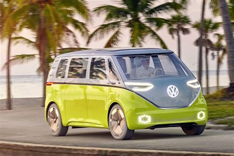 Official: all-electric VW Buzz Cargo van confirmed for