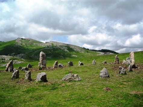 Idopile Cromlech at the border of France and Spain in the
